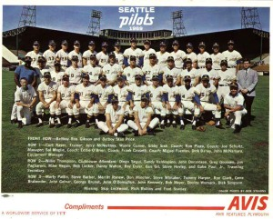 Seattle Pilots Team Photo